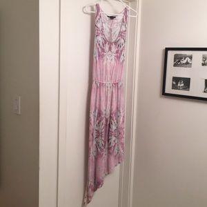 Armani Exchange drop-waist cotton dress.